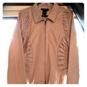 Nude genuine leather Arden B jacket